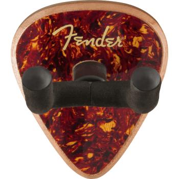 Fender 351 Guitar Wall Hanger, Tortoiseshell Mahogany