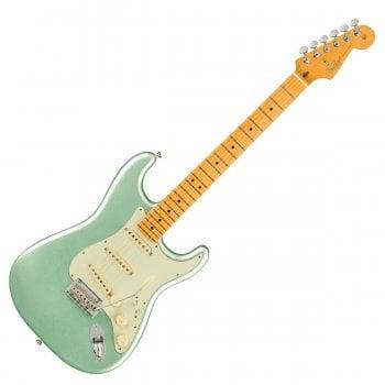 Fender American Professional II Stratocaster, Maple Fingerboard, Mystic Surf Green