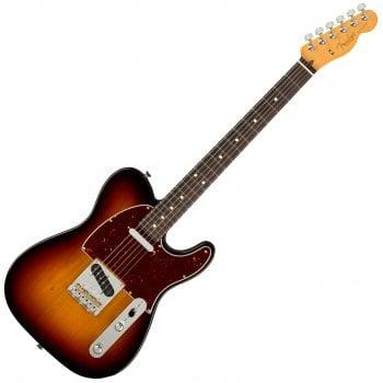 Fender American Professional II Telecaster, Rosewood Fingerboard, 3-Tone Sunburst