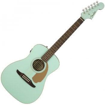 Fender California Series Malibu Player Electro-Acoustic Guitar - Aqua Splash