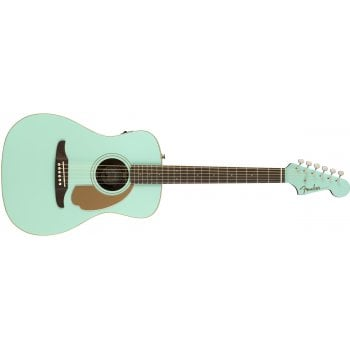 Fender California Series Malibu Player Electro-Acoustic Guitar - Aqua Splash
