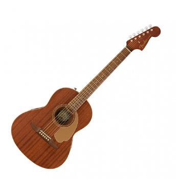Fender California Sonoran Mini All Mahogany Acoustic Guitar W/Bag