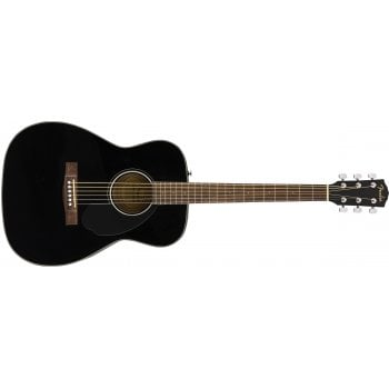 Fender CC-60S Concert Acoustic Guitar Pack V2 - Black