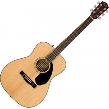 Fender CC-60S Concert Acoustic Guitar, Walnut Fingerboard, Natural