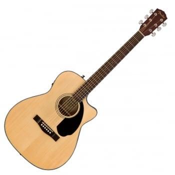 Fender CC-60SCE Concert Electro Acoustic Cutaway Guitar Natural