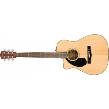 Fender CC-60SCE Left Handed Electro Acoustic Guitar - Natural