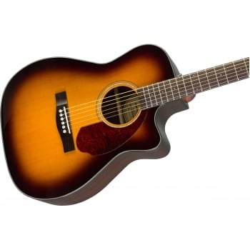 Fender CC140SCE Electro Acoustic Concert Sized Guitar Sunburst w/Case