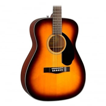 Fender CC60S Concert Sized Acoustic Guitar Sunburst