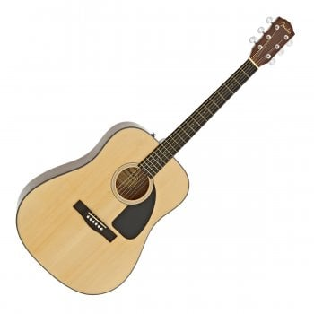 Fender CD-60 Dreadnought V3 DS Acoustic Guitar, Walnut Fingerboard, Natural