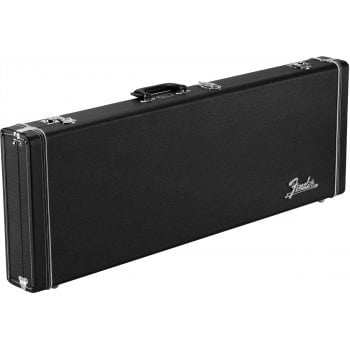 Fender Classic Series Wood Guitar Case for Strat/Tele - Black