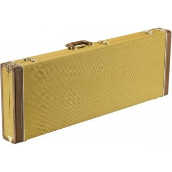 Fender Classic Series Wood Guitar Case for Strat/Tele - Tweed