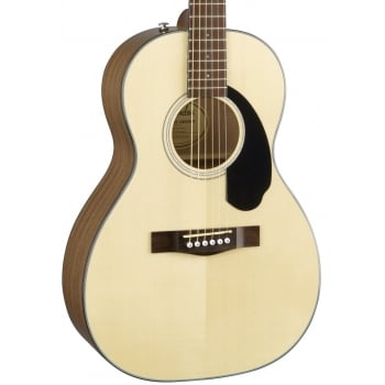 Fender CP-60S Parlor Natural Acoustic Guitar
