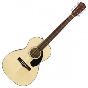 Fender CP-60S Parlour Acoustic Guitar, Walnut Fingerboard, Natural