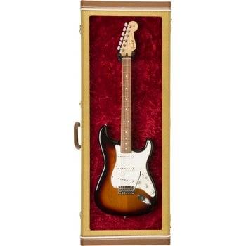 Fender Electric Guitar Display Case, Tweed
