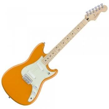 Fender Electric Guitar Duo-Sonic Capri Orange