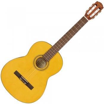 Fender ESC-110 Educational Series 4/4 Wide Neck Classical Guitar, Vintage Natural