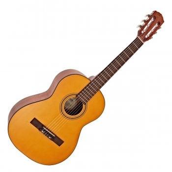 Fender ESC80 Educational Series 3/4 Size Nylon String Classical Guitar, Vintage Natural