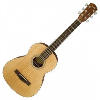 Fender FA-15 Travel Size Acoustic Guitar, Walnut Fingerboard, Natural