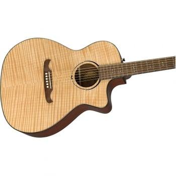 Fender FA-345CE Auditorium Natural Electro-Acoustic Guitar