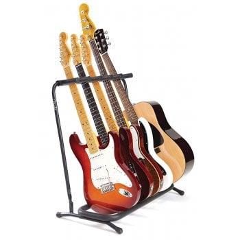 Fender Folding Multi Guitar Stand 5 - Holds 5 Guitars / Basses