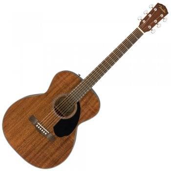 Fender FSR CC-60S All Mahogany Solid Top Concert Acoustic Guitar
