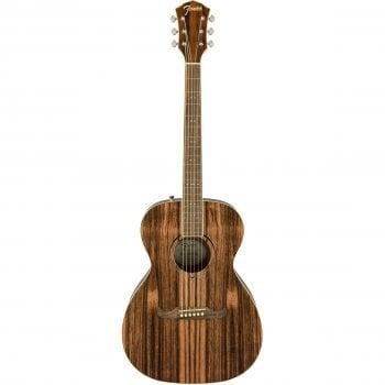 Fender FSR FA-235E Electro-Acoustic Guitar - Striped Ebony