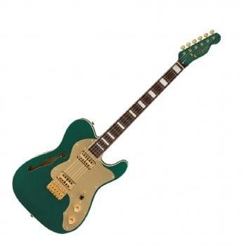 Fender FSR Super Deluxe Thinline Telecaster - Sherwood Green Metallic - Made in Japan