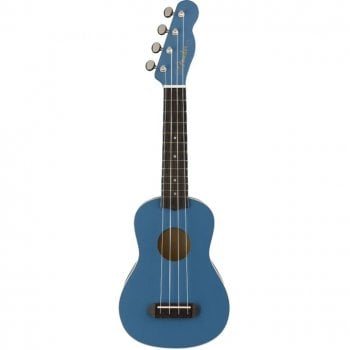 Fender FSR Venice Soprano Limited Edition Ukeulele, Lake Placid Blue