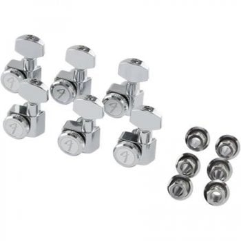 Fender Locking Tuning Machines for Stratocaster/Telecaster - Chrome