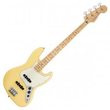 Fender Player Series Jazz Bass Guitar Maple Neck - Buttercream