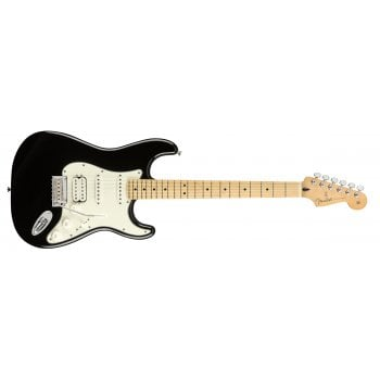 Fender Player Series Stratocaster HSS Maple Neck - Black