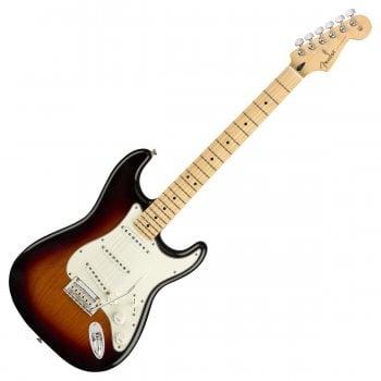 Fender Player Series Stratocaster, Maple Fingerboard, 3-Tone Sunburst