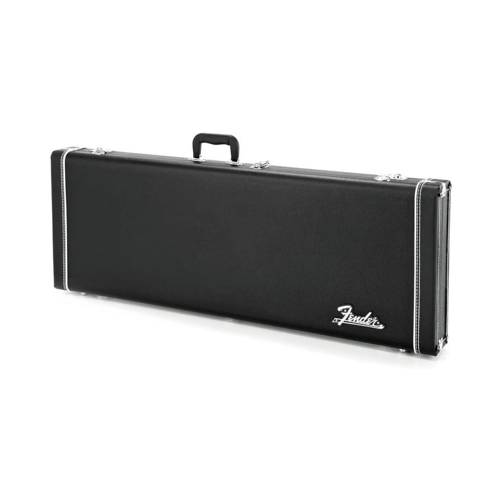 fender pro series strat or tele guitar hard case black. Black Bedroom Furniture Sets. Home Design Ideas