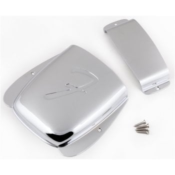 Fender Pure Vintage Jazz Bass Ashtray Cover Set - Chrome