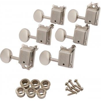 Fender Road Worn® Machine Heads / Tuners For Strat and Tele - Nickel
