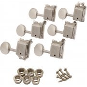 Fender Road Worn® Machine Heads / Tuners For Strat and Tele - Nickel