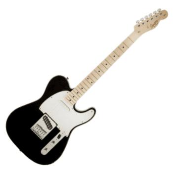 Fender Squier Affinity Series Telecaster, Maple Fingerboard, Black