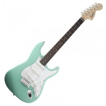 Fender Squier Affinity Stratocaster Electric Guitar - Surf Green