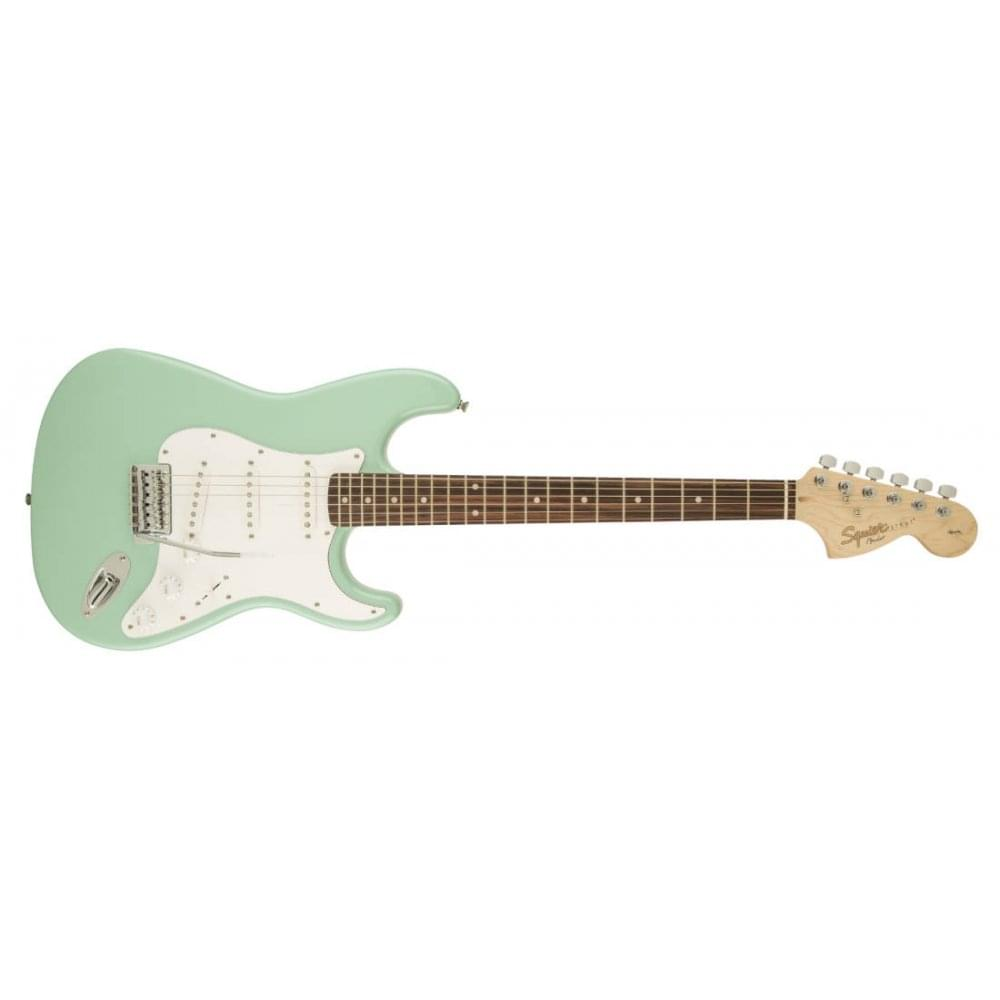 squier affinity stratocaster electric guitar surf green. Black Bedroom Furniture Sets. Home Design Ideas