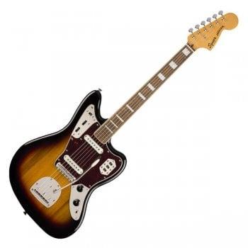 Fender Squier Classic Vibe '70s Jaguar, Laurel Fingerboard, 3-Tone Sunburst