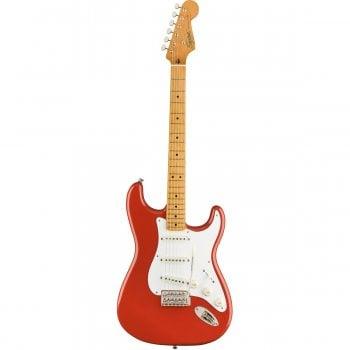 Fender SQUIER FSR CLASSIC VIBE '50S STRATOCASTER (Fiesta Red, Maple, Gold Hardware)