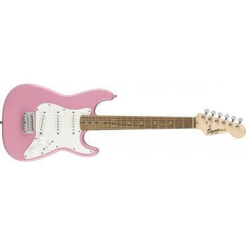 Fender Squier Mini Strat 3/4 Size Electric Guitar - Pink