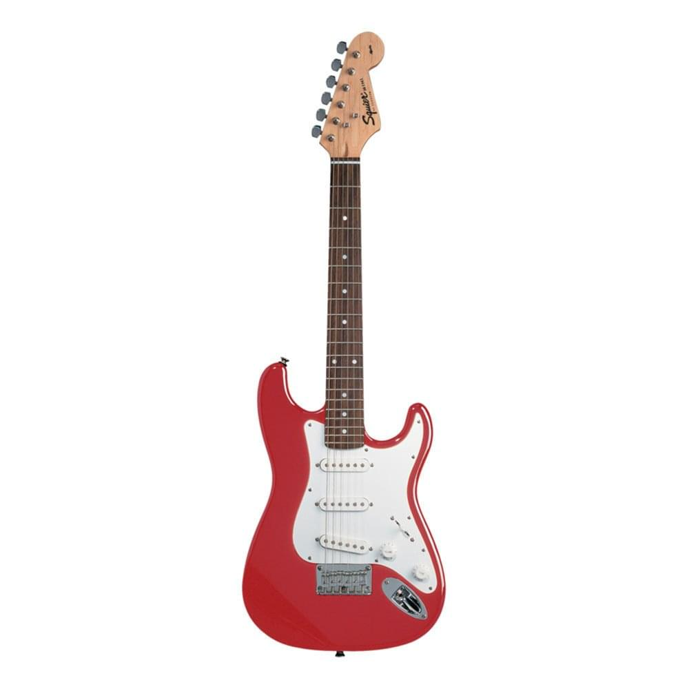 squier mini strat 3 4 size electric guitar in torino red. Black Bedroom Furniture Sets. Home Design Ideas