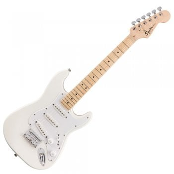 Fender Squier Mini Strat Limited Edition 3/4 Electric Guitar - Olympic White