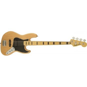 Fender Squier Vintage Modified Jazz Bass 70s in Natural