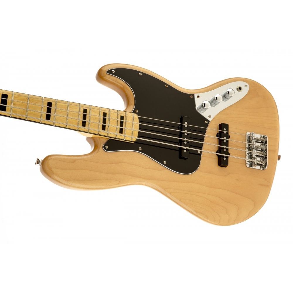 squier vintage modified jazz bass 70s in natural. Black Bedroom Furniture Sets. Home Design Ideas