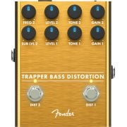 Fender Trapper Bass Distortion Effects Pedal for Bass Guitar