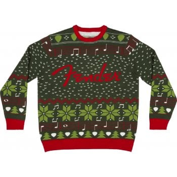 Fender Ugly Christmas Sweater 2020 - Official Merchandise - Extra Large
