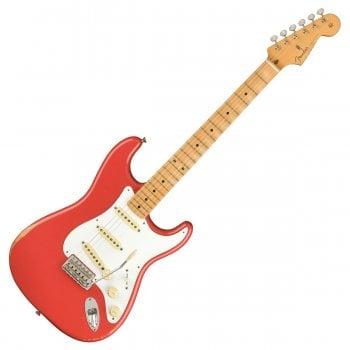 Fender Vintera Road Worn 50's Stratocaster, Fiesta Red