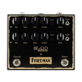 Friedman BE-OD Deluxe 2-Channel Overdrive Pedal